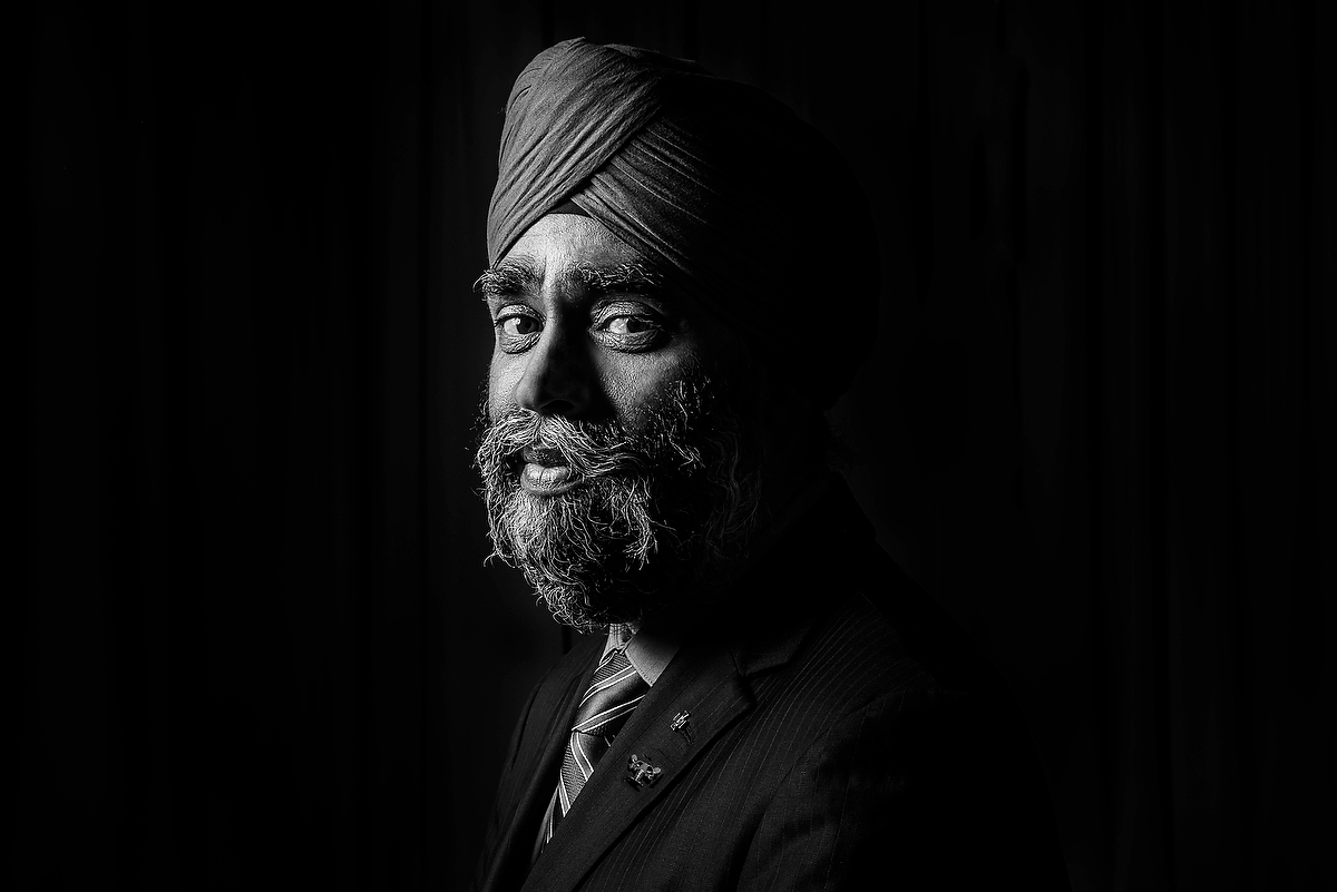 defence minister of Canada headshot