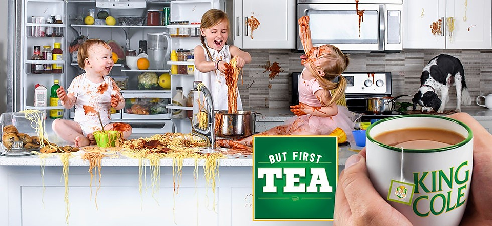 commercial photography king cole tea