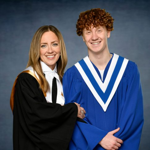 grad portraits high school + university