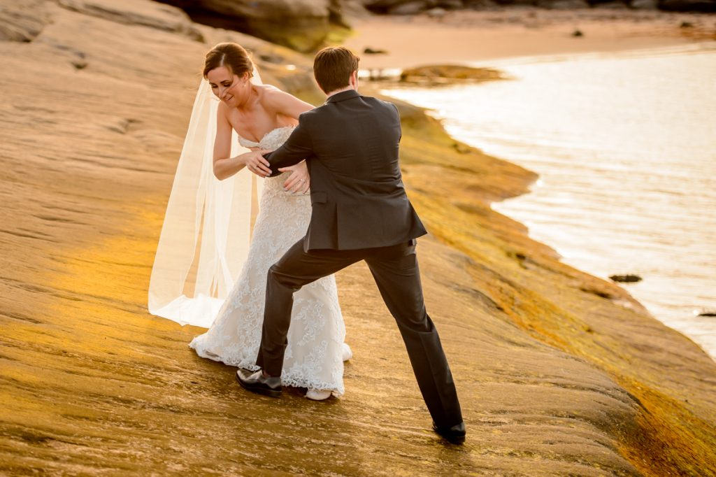applehead-pat-brittany-fox-harbour-wedding-bride-slip-fall-water10